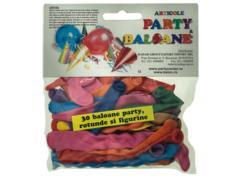 Baloane asortate pentru petreceri 30 buc. Radar Group