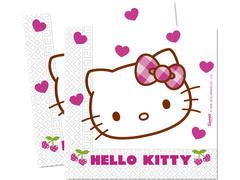 Set 20 servetele 33 x 33 cm Hello Kitty