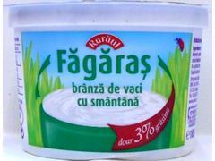 Branza de vaci cu smantana Fagaras 3% grasime 185 g Raraul