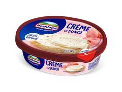 Crema de branza proaspata cu sunca 200g Hochland Crème