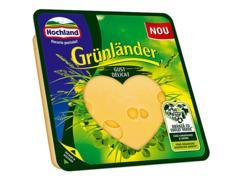 Branza maturata feliata Grunlander gust delicat 100g Hochland