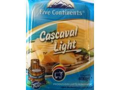 Cascaval light 400 g Five Continents