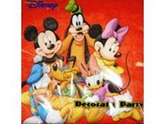 Servetele extrafine Mickey Mouse, 33 x 33 cm, 2 straturi, 20 buc. Disney