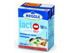 Smantana de gatit fara lactoza 10% grasime 200 ml Meggle