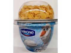 Iaurt natur cu fulgi de cerealeFrozen 1.8% grasime 140 g Danone