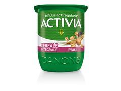 Activia Iaurt cu Cereale Integrale cu Musli 125g