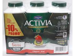 Iaurturi de baut cu capsuni si kiwi, cu bifidus actiregularis, 0.8% grasime Activia 960 g Danone