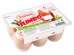 Oua proaspete XL Jumbo 6 buc Familia Toneli