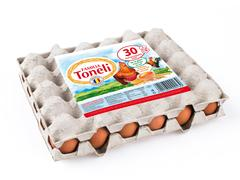 Oua proaspete L ( 63 - 73 g ) Familia Toneli 30 bucati