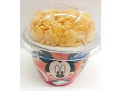 Iaurt cu capsuni mic dejun delicios 140 g Danone