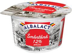 Smantana 12% grasime Albalact 200 g