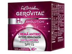 Crema de fate antirid 45+ 50 ml Gerovital