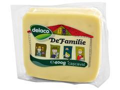 Cascaval de familie 400 g Delaco