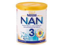 Lapte praf premium de continuare cu Protect Plus Nestle Nan 2 400g