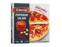 Pizza pepperoni cu salam 390 g Edenia