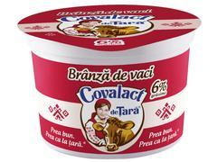 Branza de vaci 6% grasime  Covalact de Tara 200 g
