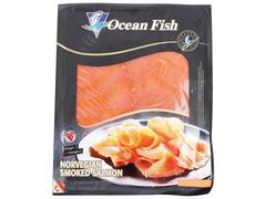 Somon norvegian afumat la rece Ocean Fish 100g