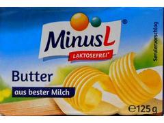 Unt fara lactoza 82% grasime 125 g MinusL
