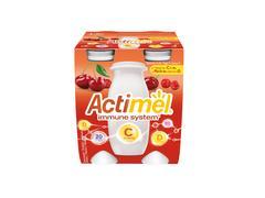 Actimel Iaurt de Baut Cirese/Acerola/Vitamina C, 4x100g