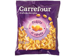 Arahide decojite & prajite in ulei cu sare 300 g Carrefour