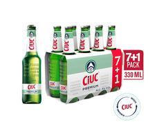 #BERE CIUC STICLA  8X0.33L (7+1)