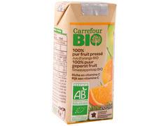 Suc bio de portocale 0.2 l Carrefour