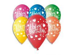 Baloane Happy Birthday 15 buc. Pegaso