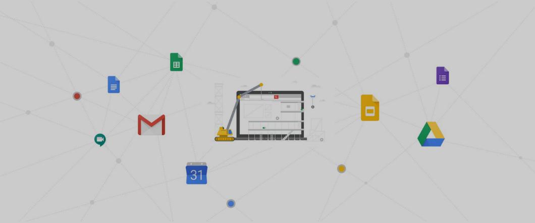 Build a simpler, seamless workspace with the G Suite developer platform