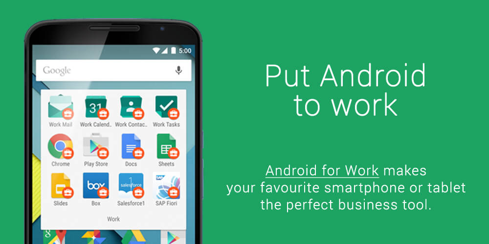 Android to Work