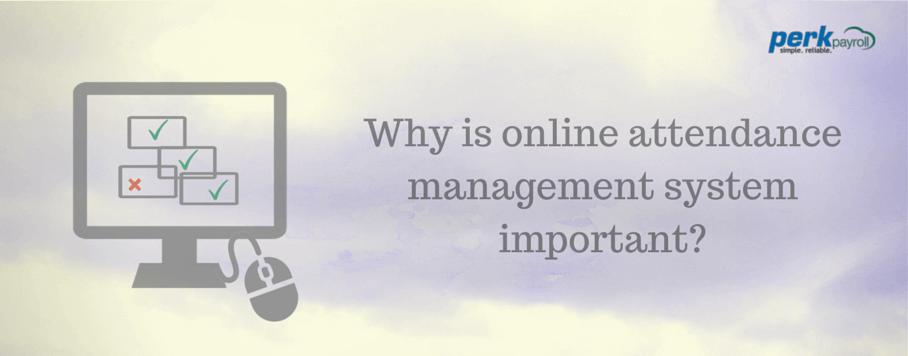 online attendance management