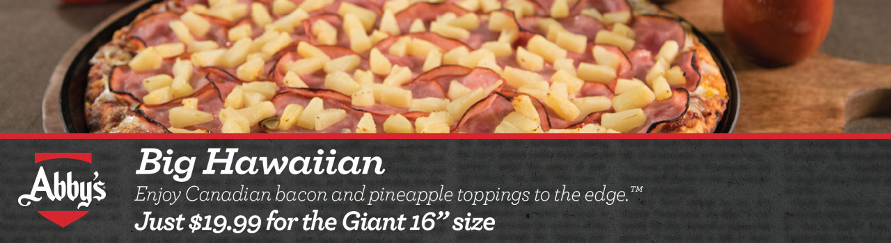 Big Hawaiian Pizza
