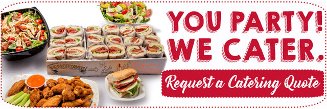 Your Party. We Cater.