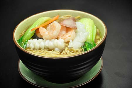 Noodle Soup with Mixed Meat & Seafood