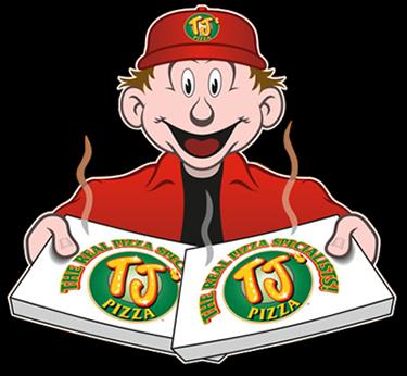 TJ's Pizza Mascot