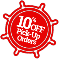 10% Off Pick-Up Orders