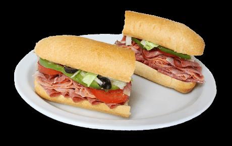 Italian goagie sub
