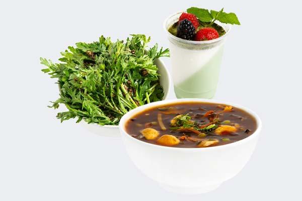 Soup, Salad & Dessert