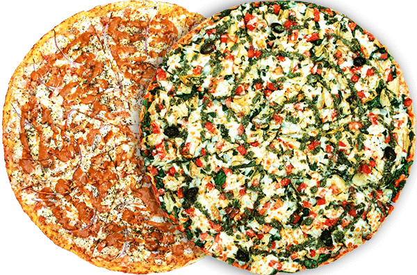 2 Extra Large Specialty Pizzas