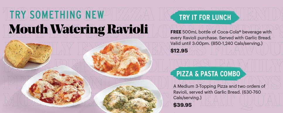 Mouth Watering Ravioli