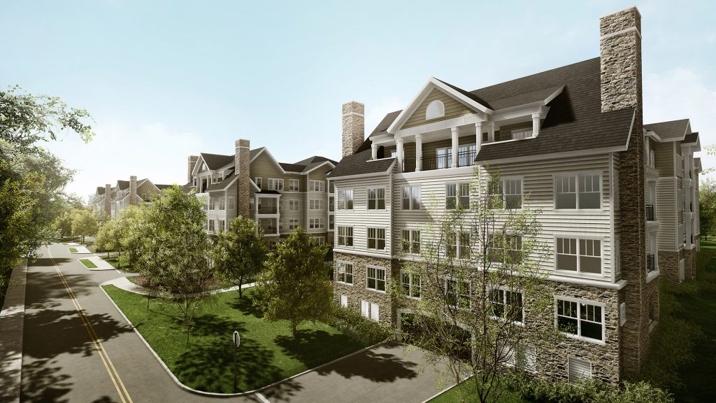 Exterior of Independent Living apartments