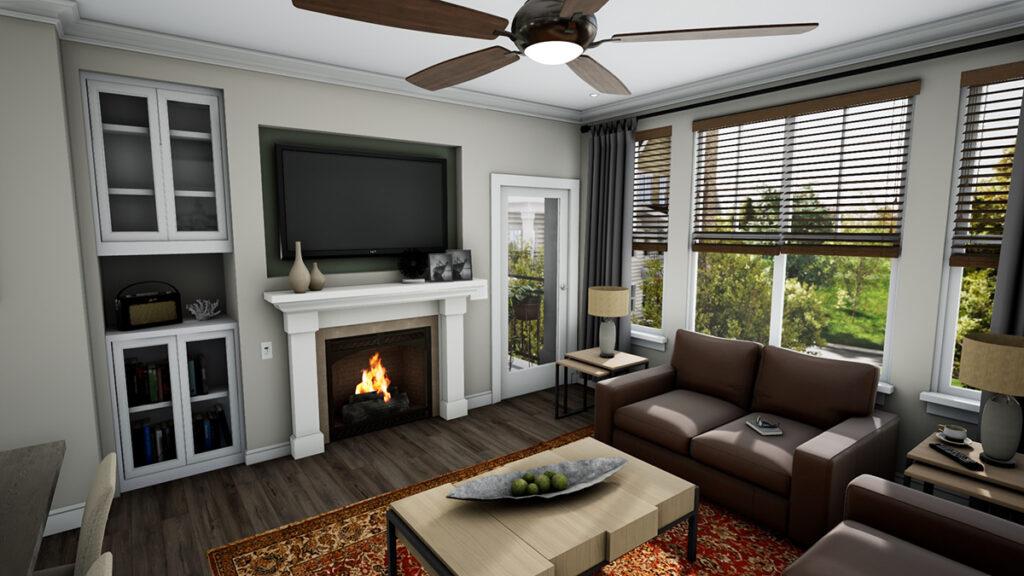 Harrison Fireplace