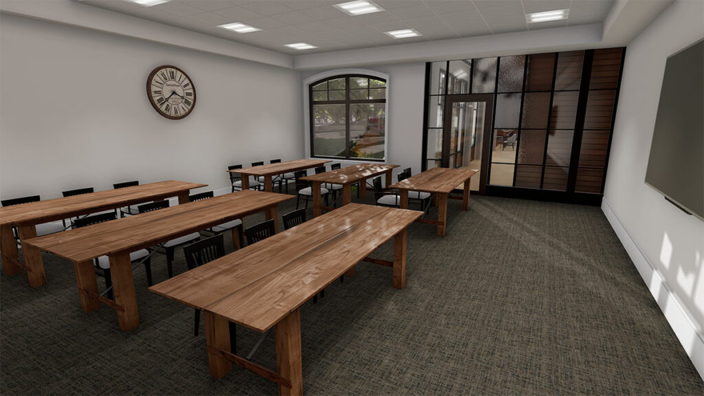 Learning Commons Classroom