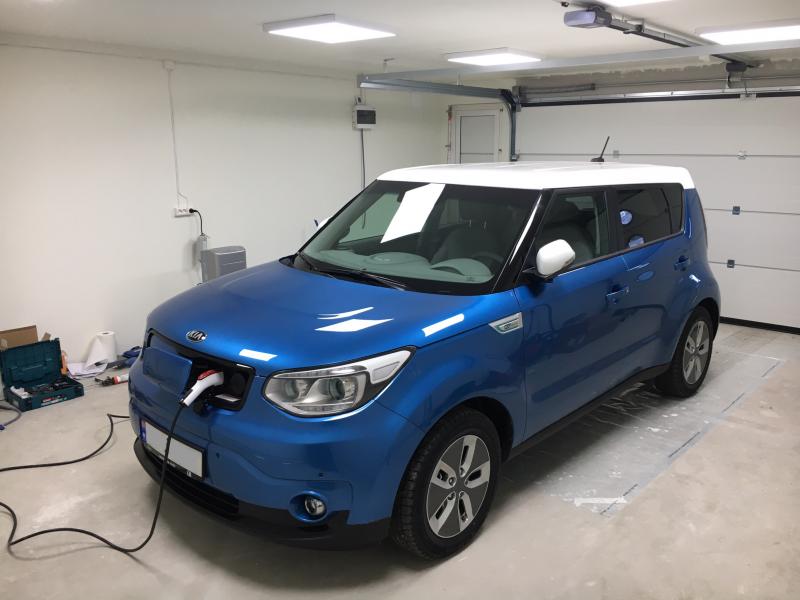 2018 Kia Soul EV Exclusive Kombikupé Batteri Brooms bilguide
