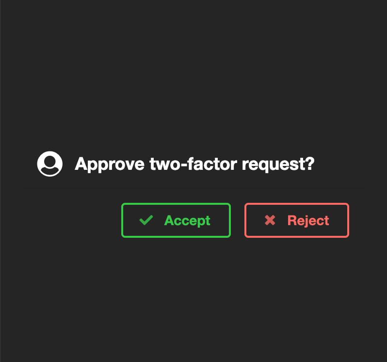 Auth request
