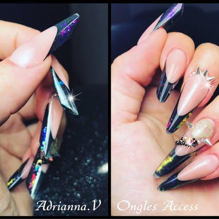 Adrianna v nail art