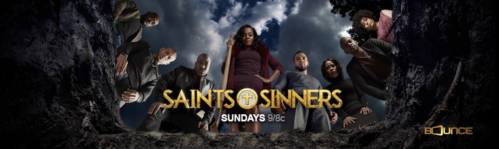 Saints & Sinners: Sundays 9P – Header