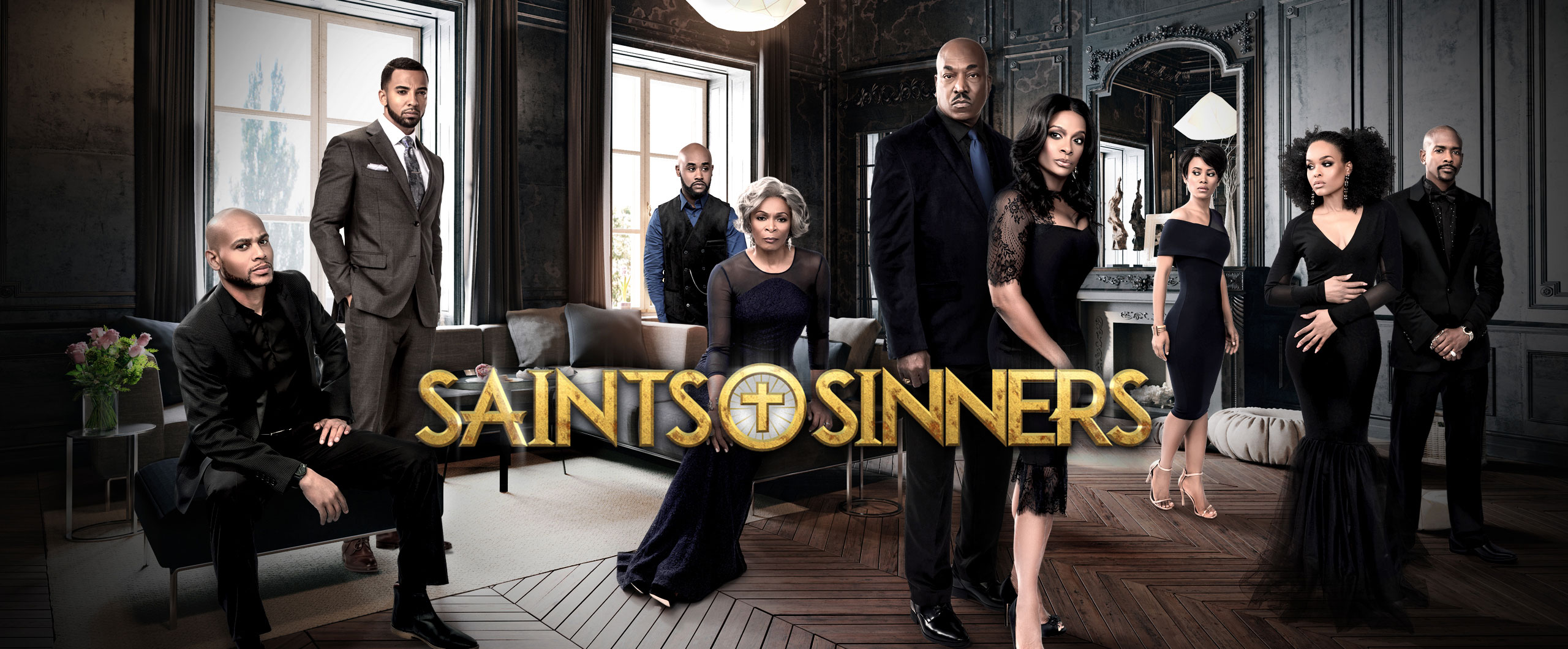 Saints & Sinners All New Episode  April 22  9/8c - Web Slider