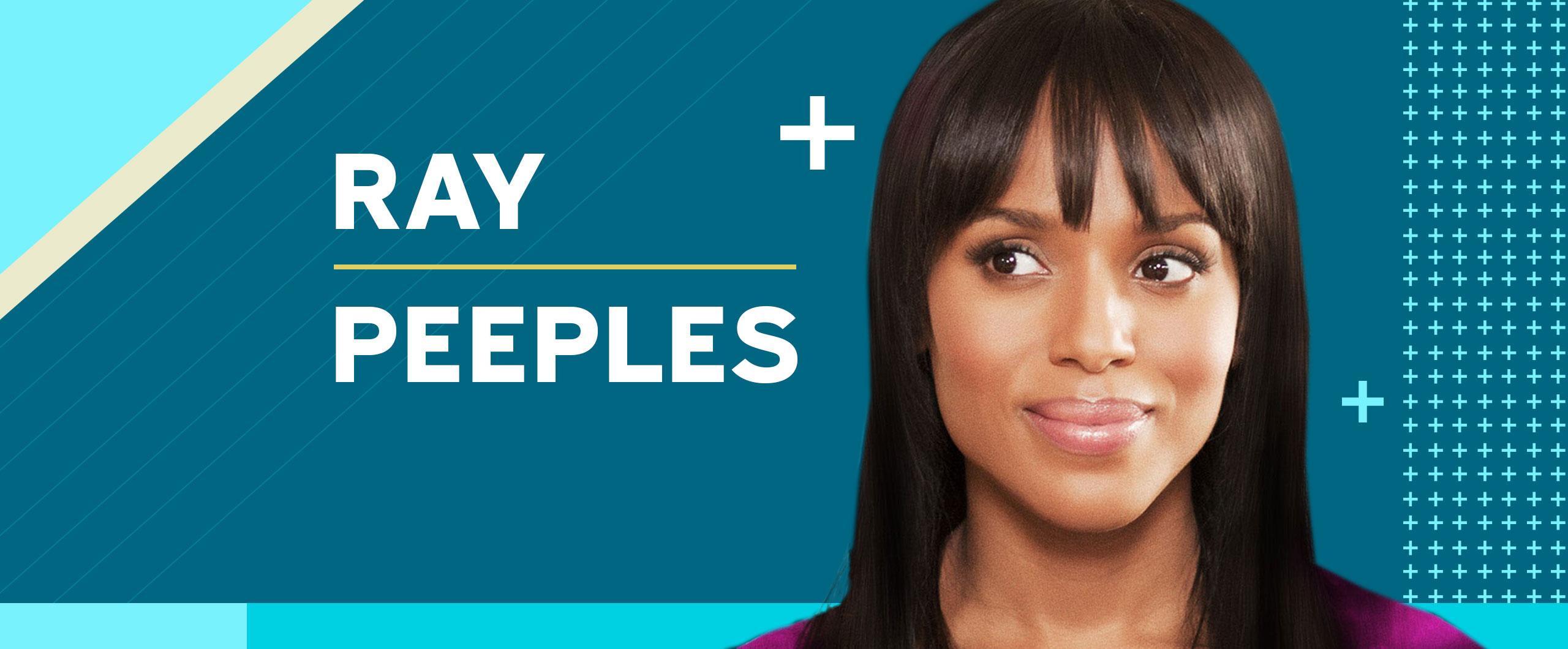 Kerry Washington Stunt_ Ray Peeples _ Tuesday