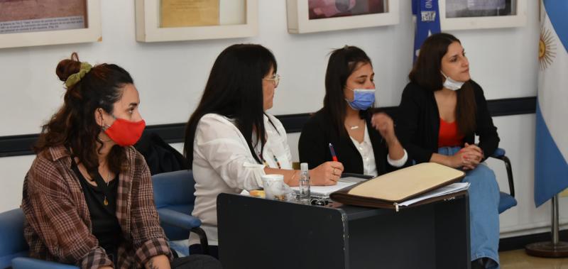 María de los Ángeles Trojaola participó de un encuentro de secretarias de Desarrollos Social en Ameghino