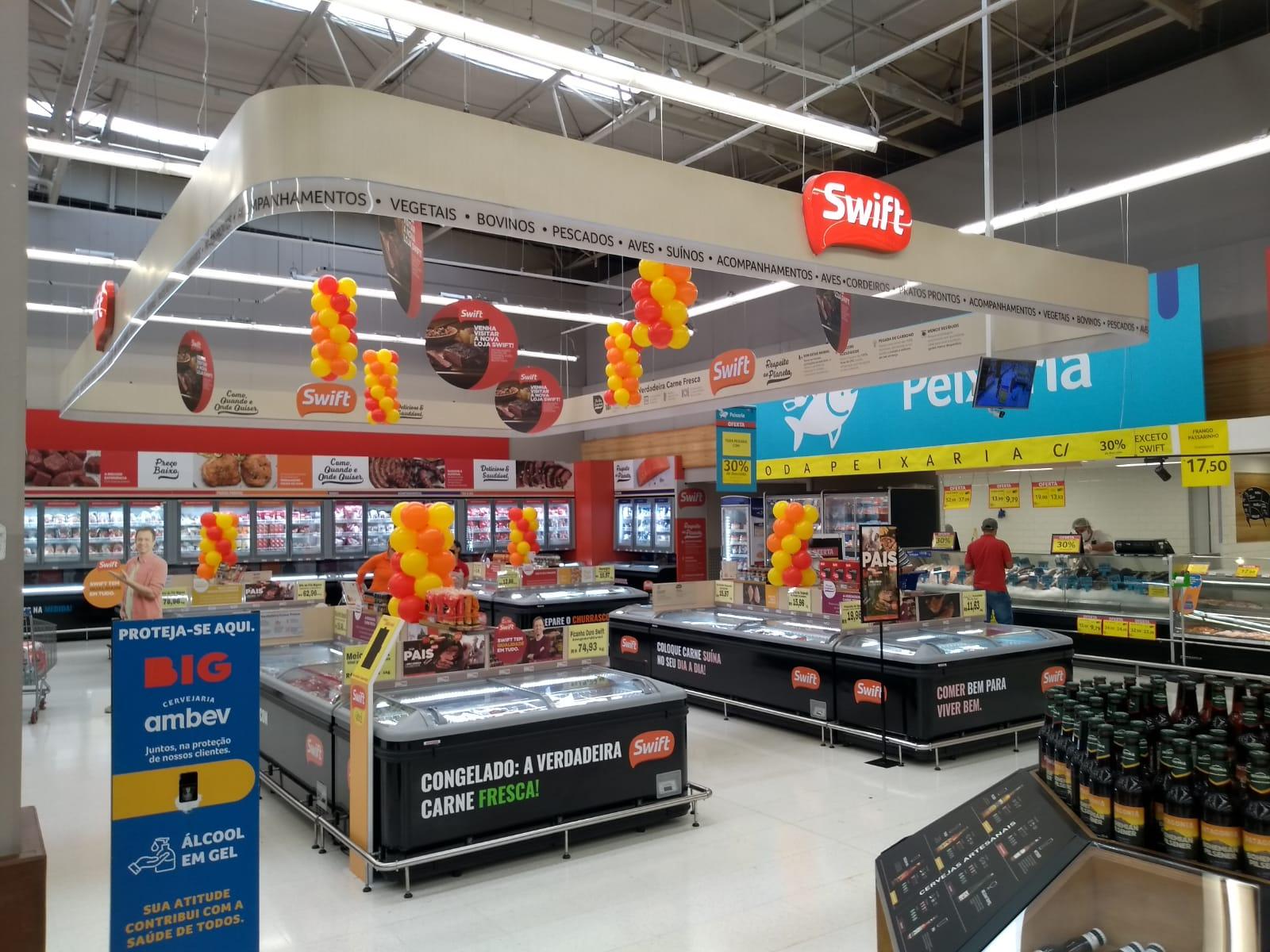 BIG inaugura espaço exclusivo da Swift em suas lojas